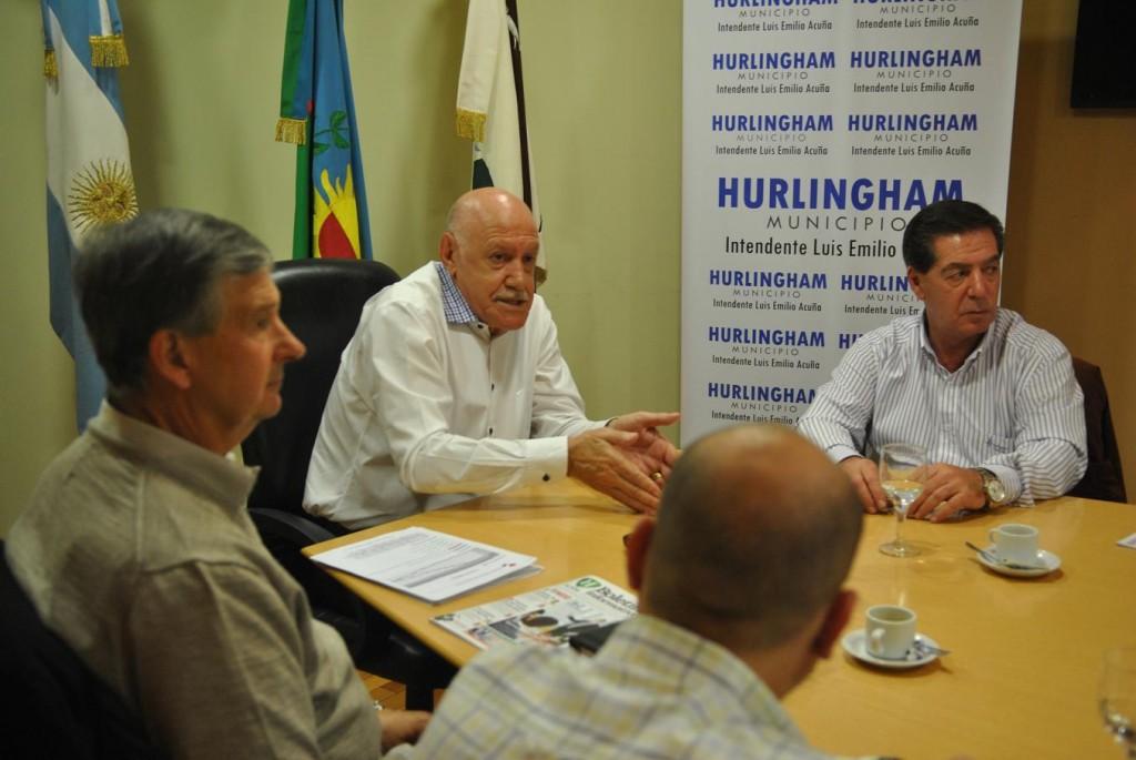 Comerciantes, Industriales y Profesionales de Hurlingham se juntaron con el intedente (2)