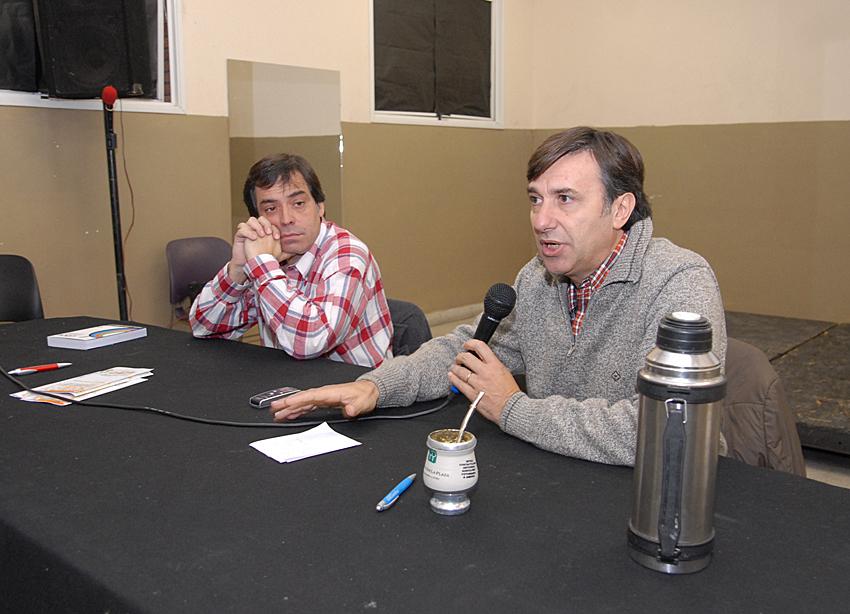 Rody Rodriguez y Javier Romero