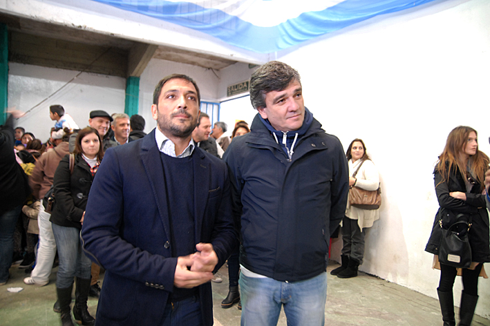 Patricio Mussi y Juan Zabaleta