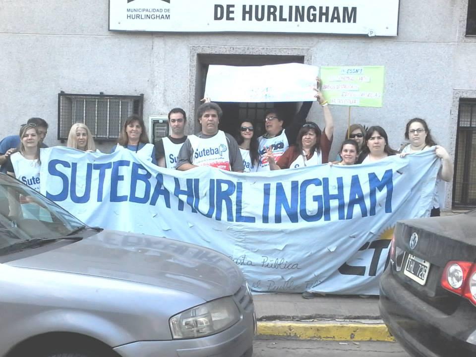 Reclamo de suteba en el HCD de Hurlingham