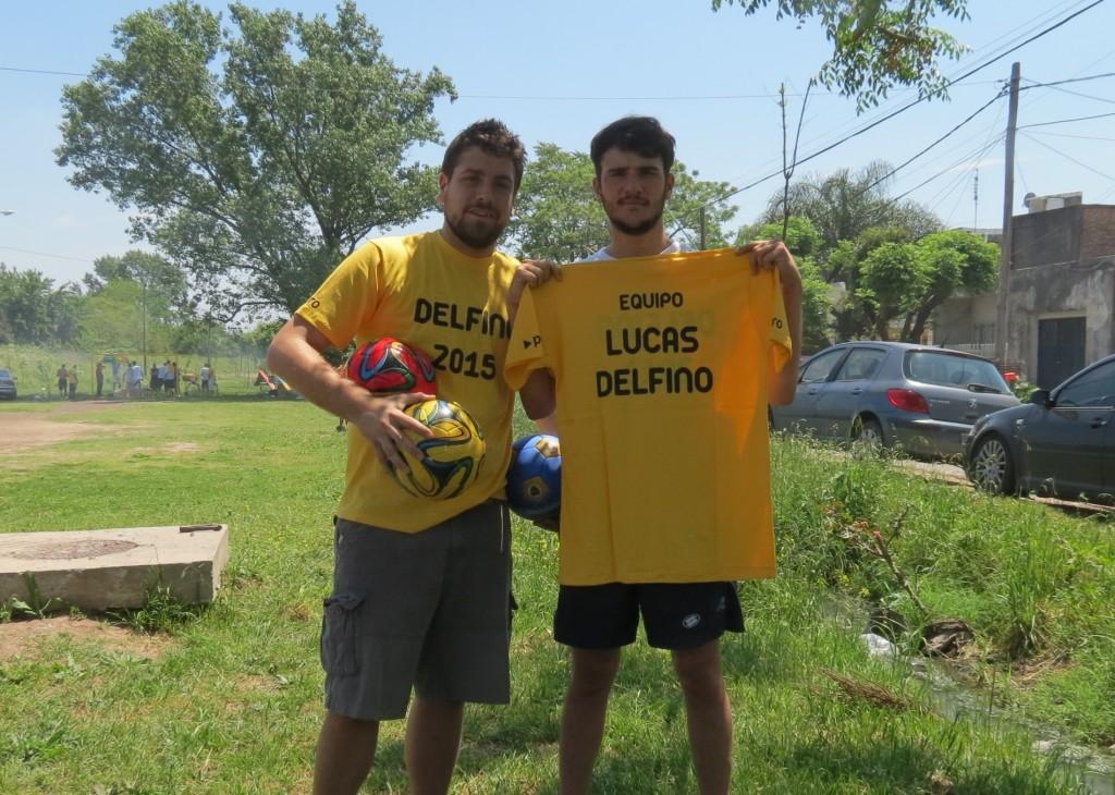 Lucas Delfino y Pedro Robledo en Hurlingham