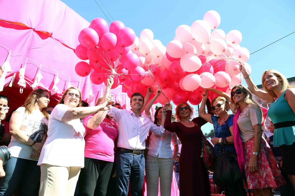 Zabaleta lucha contra el cancer de mama