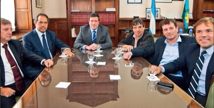 Scioli y Mariotto celebran Ley de paritarias Municipales