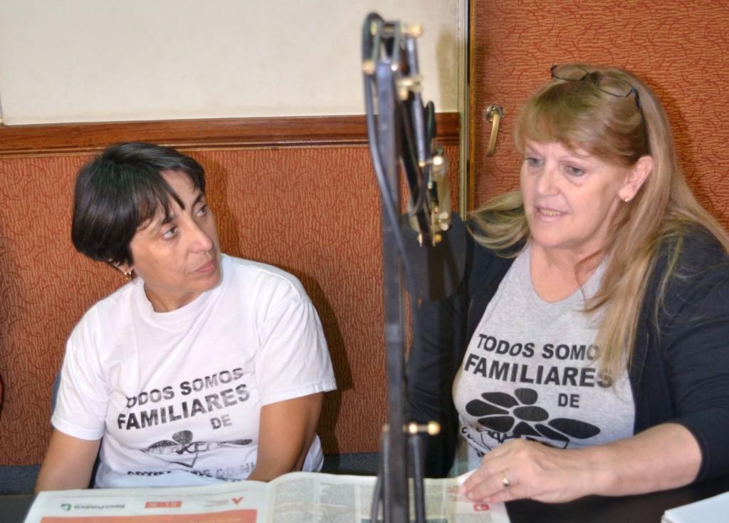 Mirian Cervantes y Odila Casella