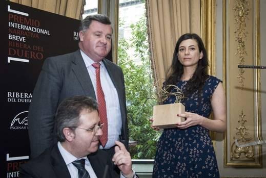 Samanta Schweblin recibe el premio Ribera del Duero
